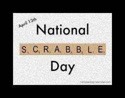 Scrabble clipart day