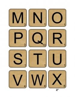 Scrabble clipart kid dictionary