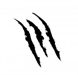 Scar clipart claw marks
