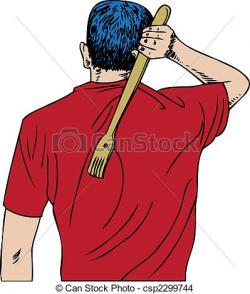 Scratches clipart back