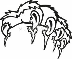 Claws clipart wildcat
