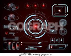 Screen clipart futuristic