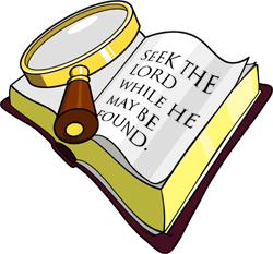 Religious clipart bible study