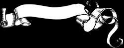 Drawn scroll vector art