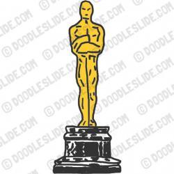 Oscar clipart oscar statue