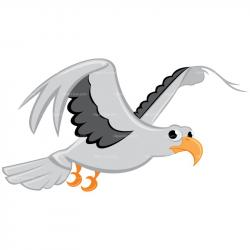 Seagull clipart animated