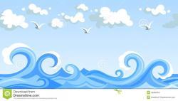 The Sea clipart sky sea