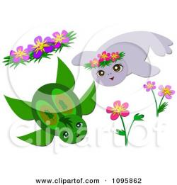 Blowfish clipart sea turtle