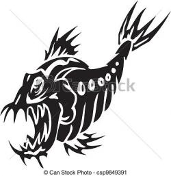 Sea Monster clipart draw