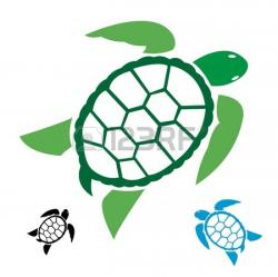 Tribal clipart sea turtle