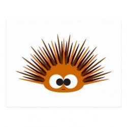 Hedgehog clipart urchin