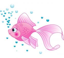 Angelfish clipart pink fish