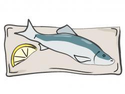 Fins clipart fish food
