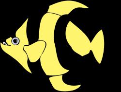 Angelfish clipart ikan