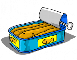 Sardine clipart cartoon