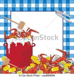 Crawfish clipart seafood boil