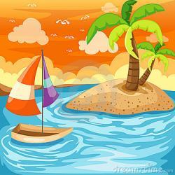 Landscape clipart seascape