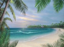 Seascape clipart beach scenery