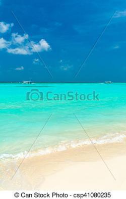 Seascape clipart beach shore