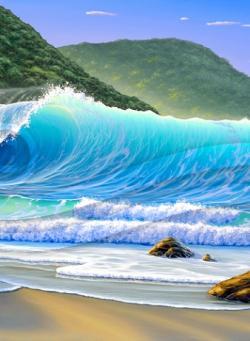 Seascape clipart scott christensen