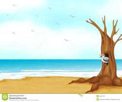Scenery clipart seashore