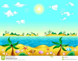 Ocean clipart seashore