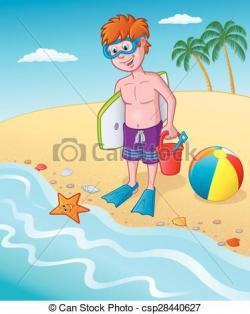 Seashore clipart cartoon