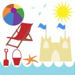 Holydays clipart seaside