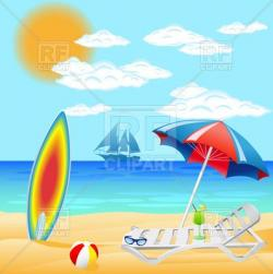 Coast clipart beach scenery