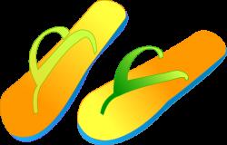 Sandal clipart cartoon