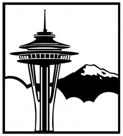 Seattle clipart Seattle Map Clipart