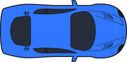 Aerial clipart view a car