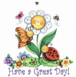 Saturday clipart have a great day