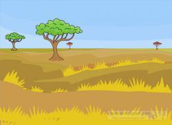 Savannah clipart african savanna
