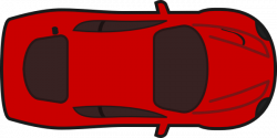 Race Car clipart birds eye view