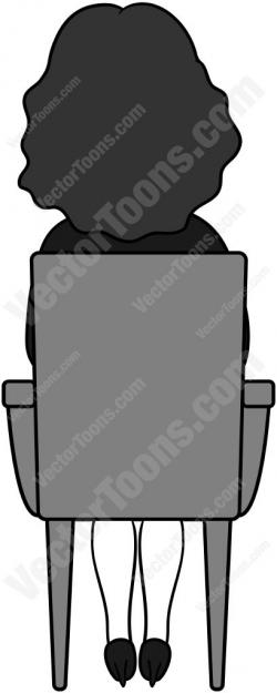 See clipart chair back