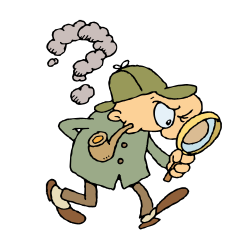 Sherlock Holmes clipart animated