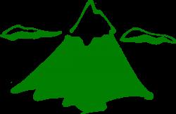 Himalaya clipart green mountain