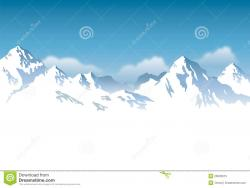 Alps clipart mountain background