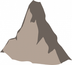 Peak clipart mountain background