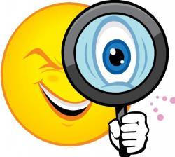 Glance clipart sense sight
