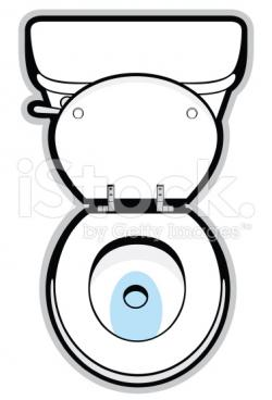 See clipart toilet top