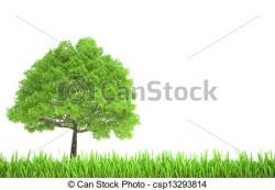 See clipart tree grass