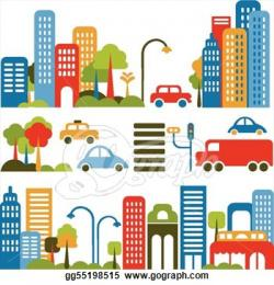 Urban clipart urban community
