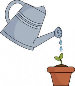 Watering Can clipart garden