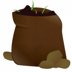 Seed clipart soil bag