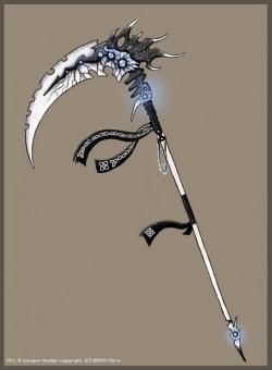 Sensen clipart scythe