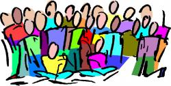 Singer clipart speech choir