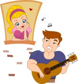 Serenade clipart group singing