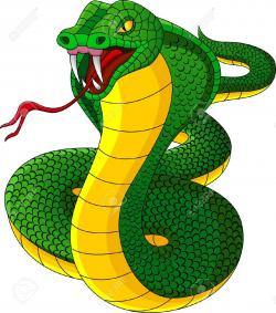 Viper clipart angry snake
